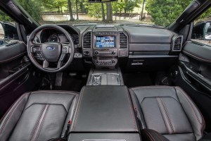 2019 Ford Expedition Stealth Edition Interior