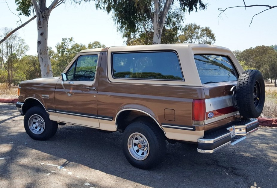 1987 Ford Bronco
