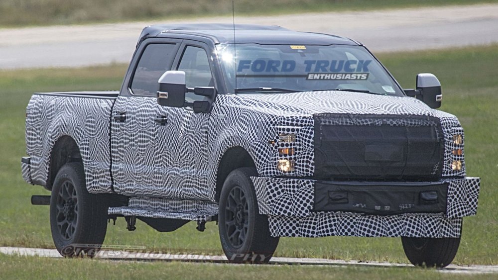 Next Gen Ford Super Duty Getting A New 7 3 Liter Power Stroke Diesel