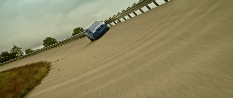 Ford Edge ST on track