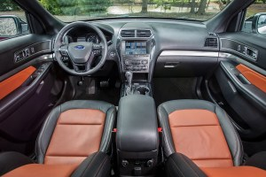 2019 Ford Explorer XLT Desert Copper Edition Interior