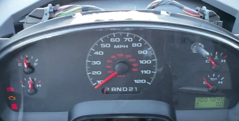 F-150 Brake Light On