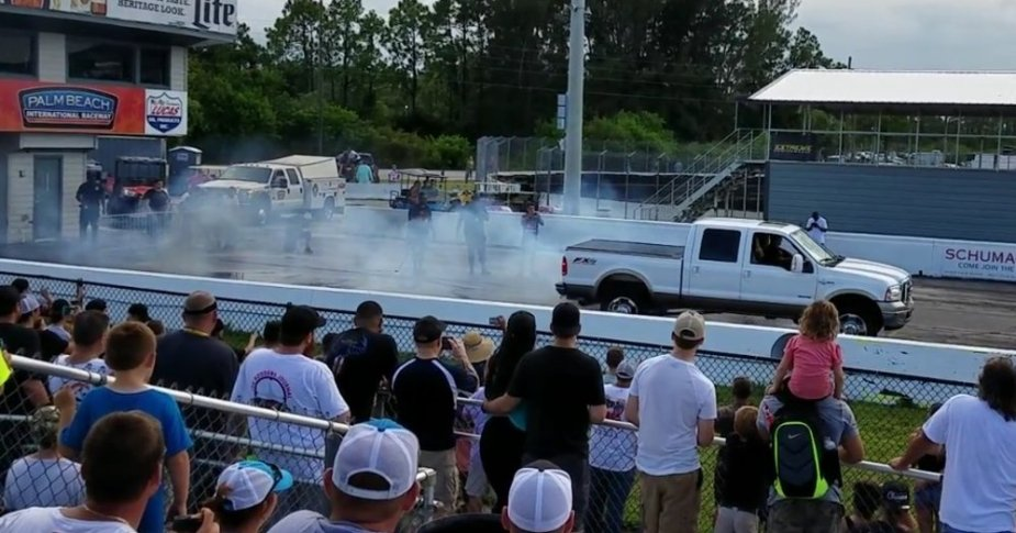 F-250 Bad Burnout