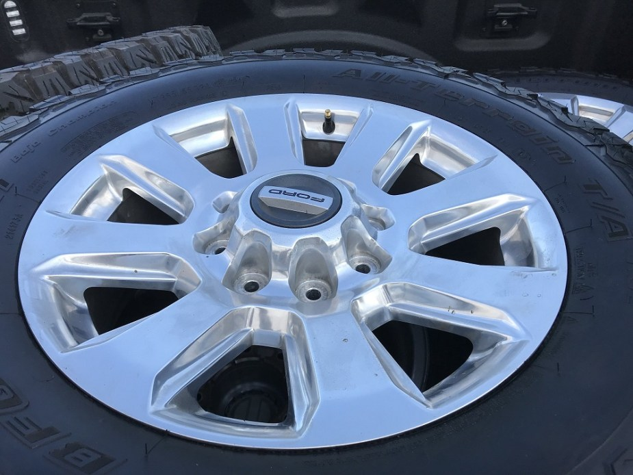 Ford Super Duty Platinum Wheels