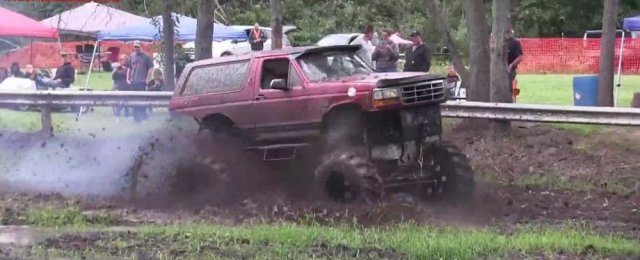 Ford Bronco in Action