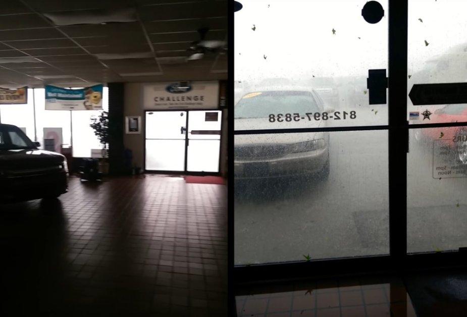 Ford Dealership Storm Dark