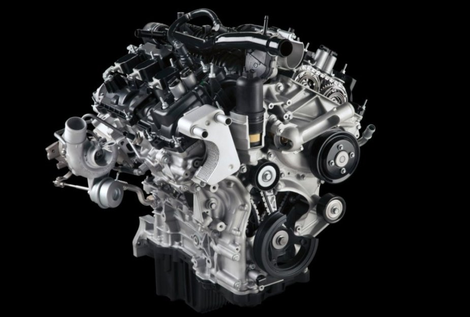 2.7L EcoBoost without Engine Cover
