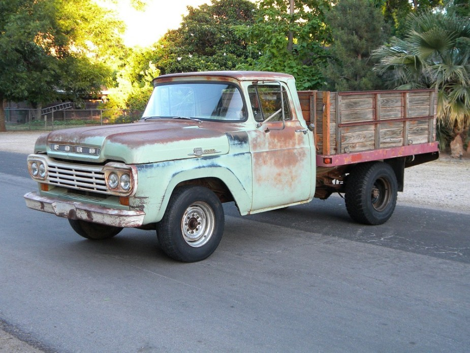 1959 Ford F-250 Stake Bed Ranch Truck