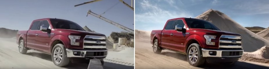 2015 F-150 in Red