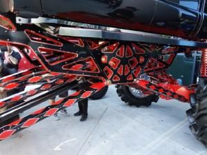 SEMA Ford F-350 Super Duty undercarriage