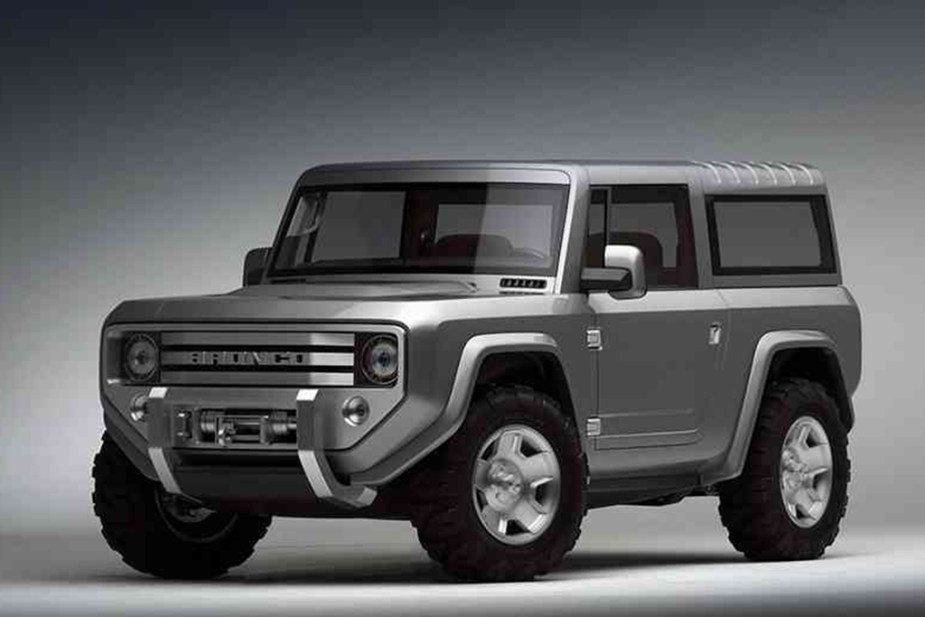 Speculative Bronco rendering.