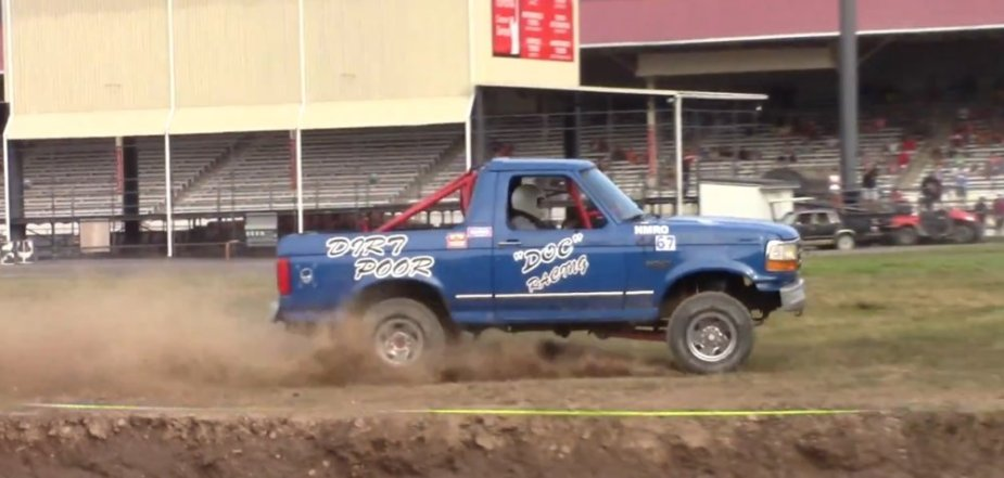 Dirt Poor Ford Bronco Race Truck Side