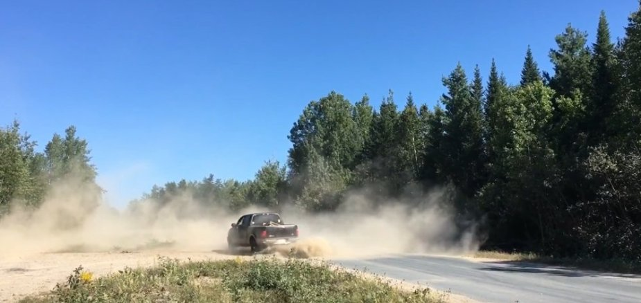 F-150 Dirt Burnouts Rear
