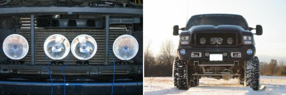 Ford Truck Grille Lights