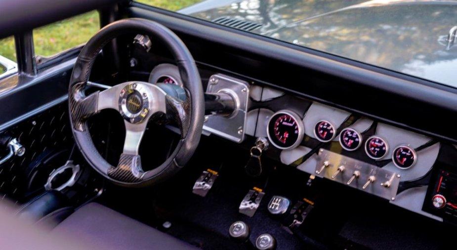 1967 Ford Bronco Dash