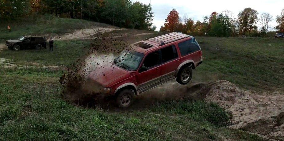 1999 Ford Explorer Hard Landing