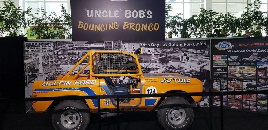 Uncle Bob's Bouncing Bronco LA Auto Show