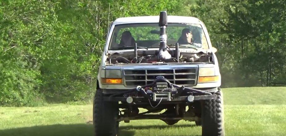 Mud Bronco Charging