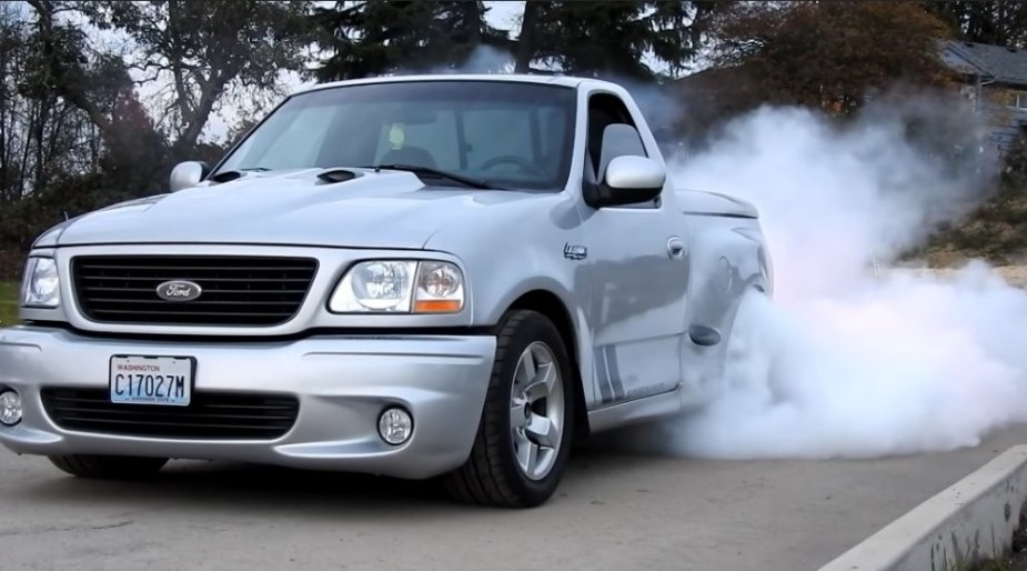 2001 F-150 Lightning Burnout Front