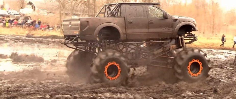 F-150 Raptor Mud Truck Rear