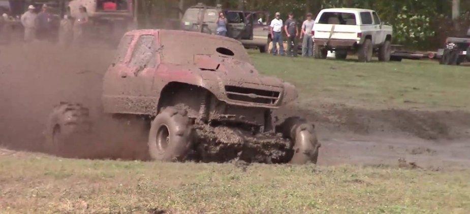 Red Ranger Mud Coming Up