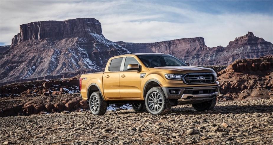 2019 Ford Ranger available soon.