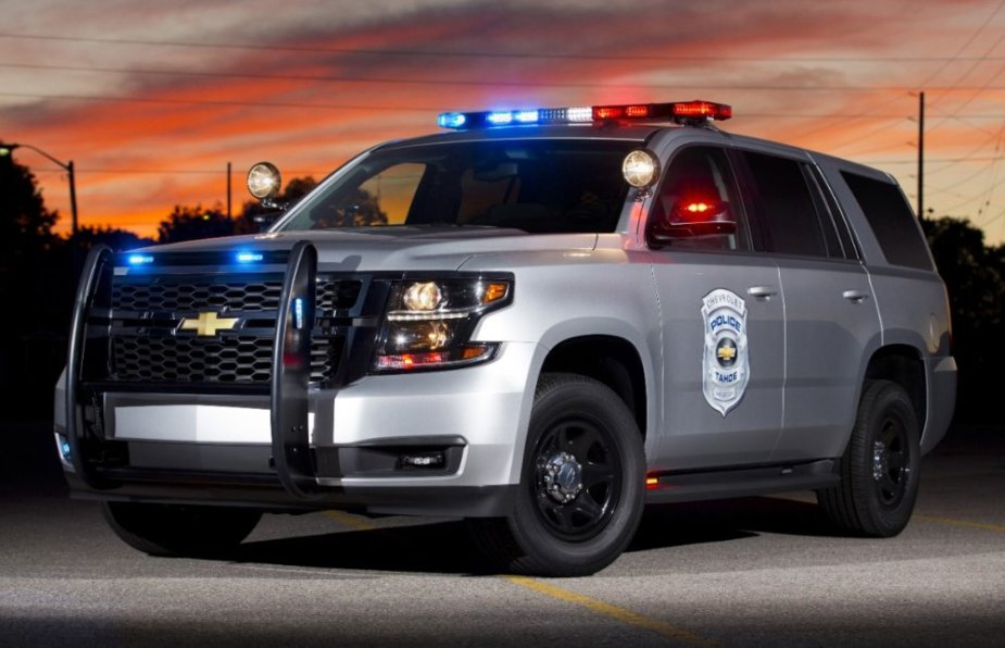 Chevy Tahoe SSV Front End