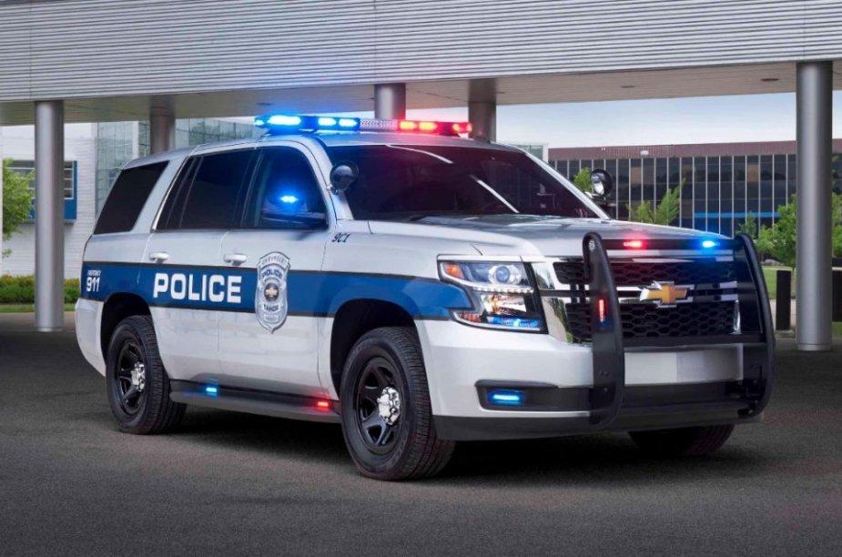 Chevrolet Tahoe SSV Front Side