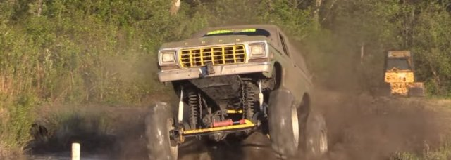Gutter Guys Bronco Front Wheels Up