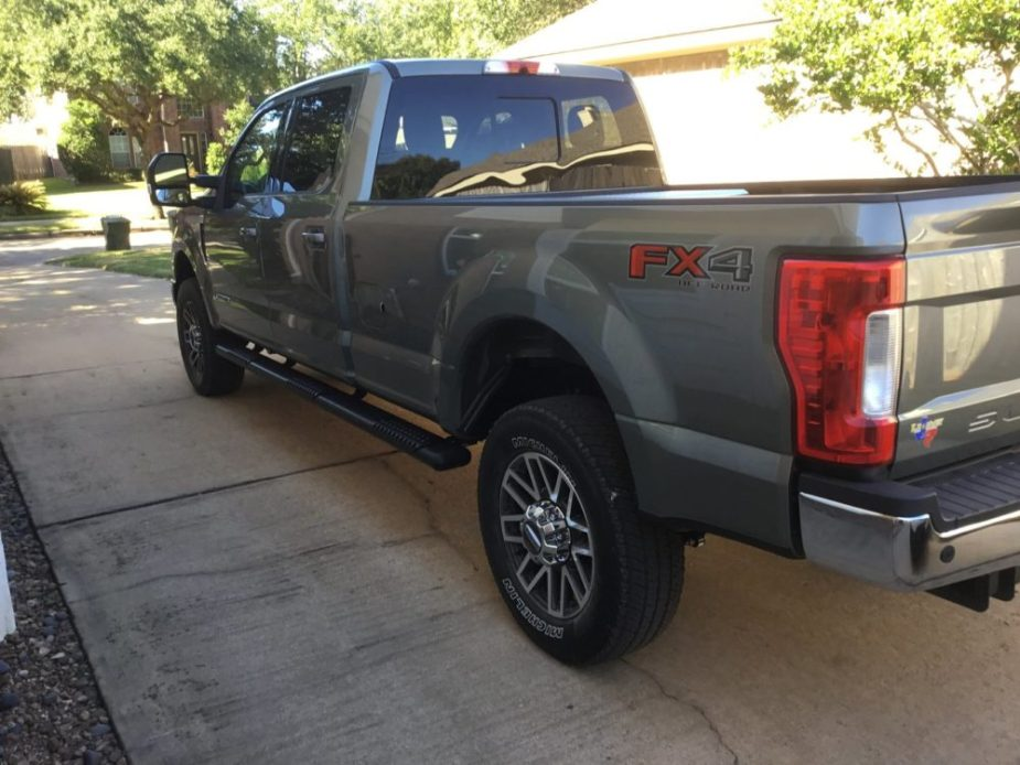 Ford Super Duty Extended Running Boards