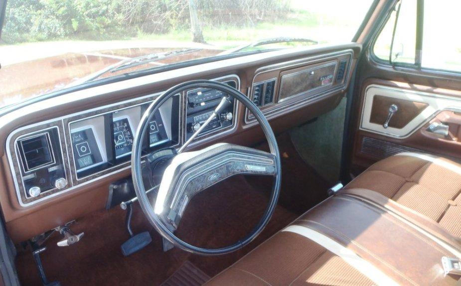 1978 Ford F-150 Ranger Interior