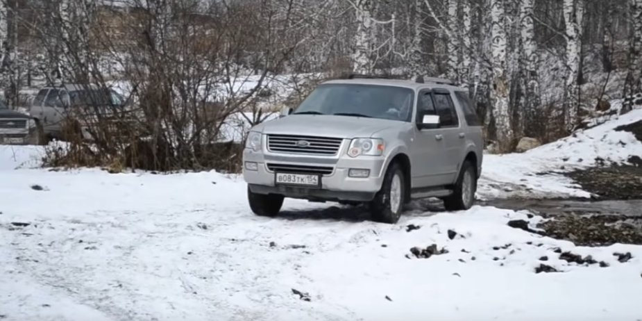 Ford Explorer Crossing Water