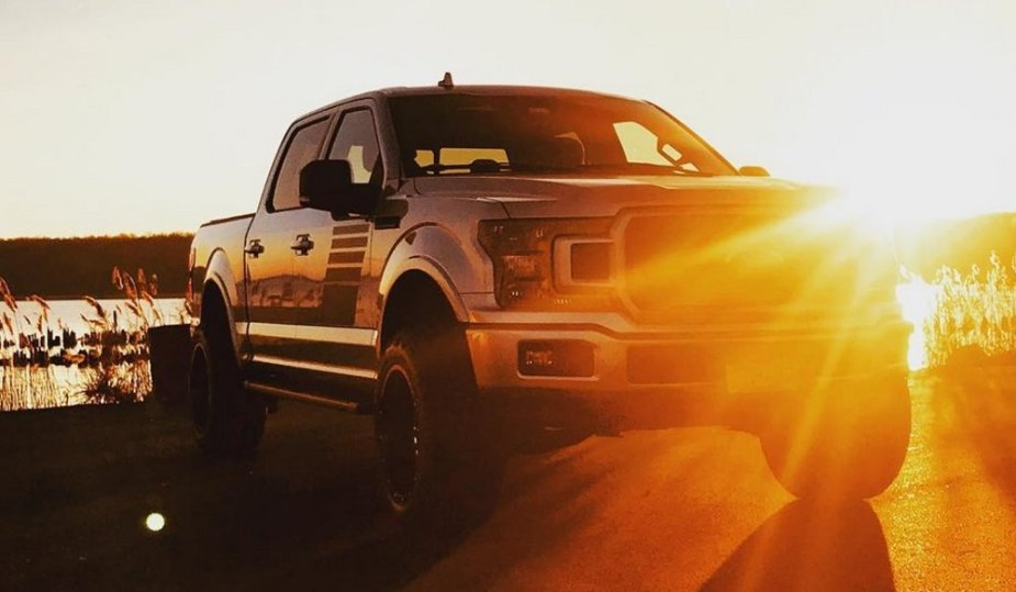 2018 Ford F-150 in the Sun