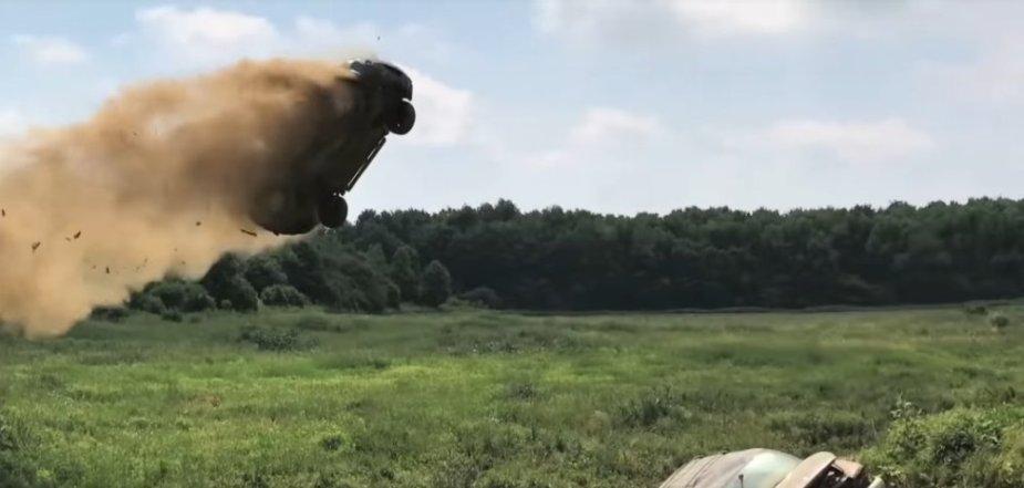 Ford Escape Jump In Air