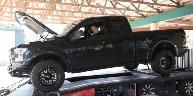 Ford F-150 on the Dyno