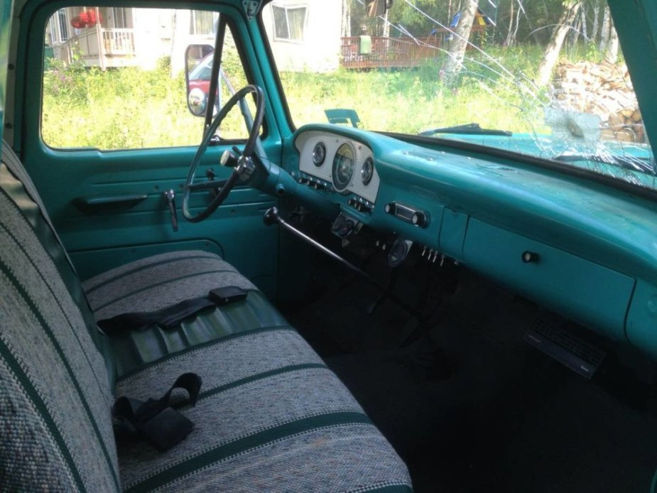 1965 Ford F-100 Cabin Before