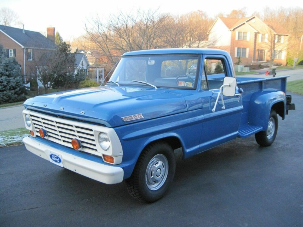 Ford Truck Enthusiasts Member Scores Amazing 12K-mile '67 F-100