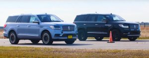 2019 Lincoln Navigator Lined Up