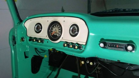 1965 Ford F-100 Dash After