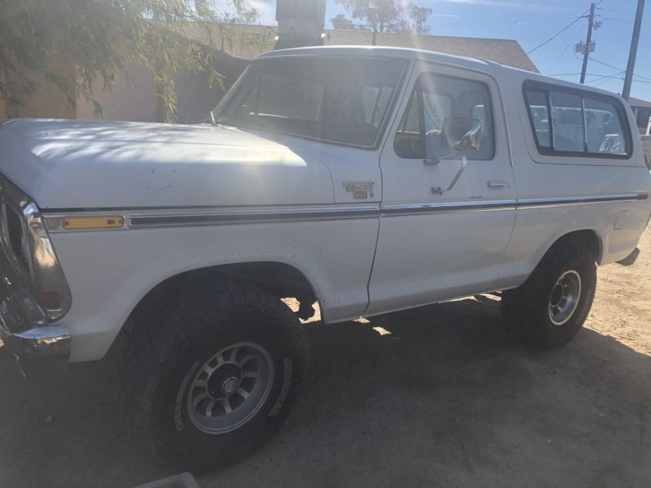 1978 Ford Bronco For Sale Driver's Side