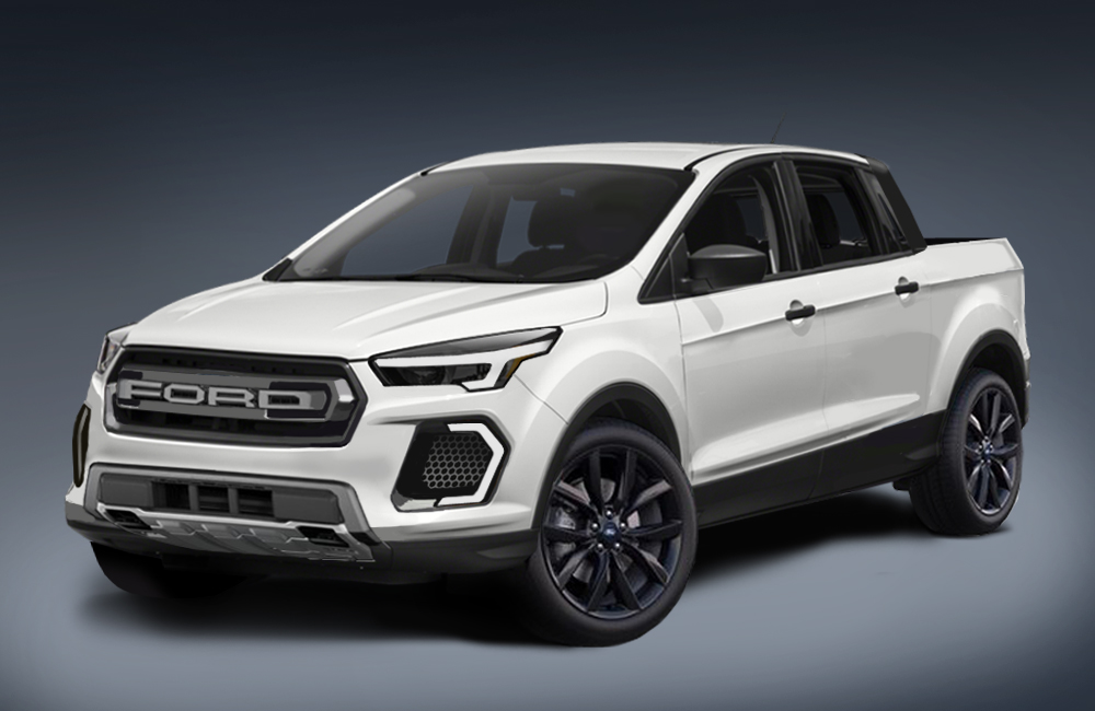 New Ford Trucks >> Is This The New Ford Focus Based Compact Pickup Ford
