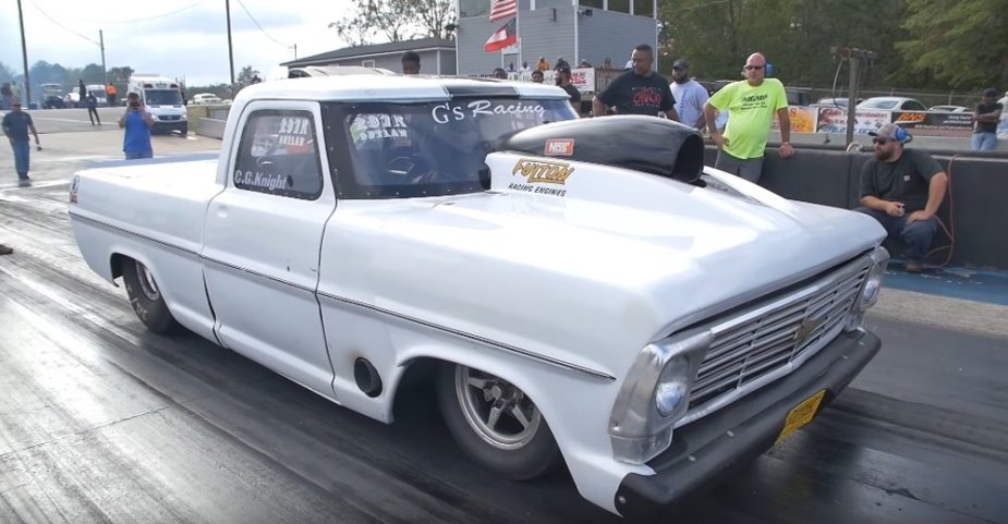 Classic Ford F-Series Drag Truck Front