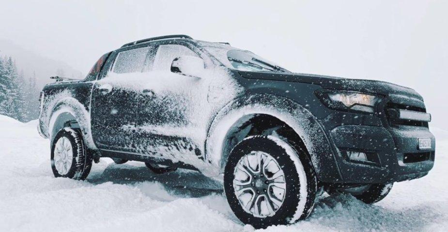 Ford Ranger Wildtrak Snow