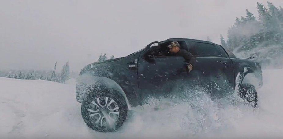 Ford Ranger Wildtrak Snow Drift Wide