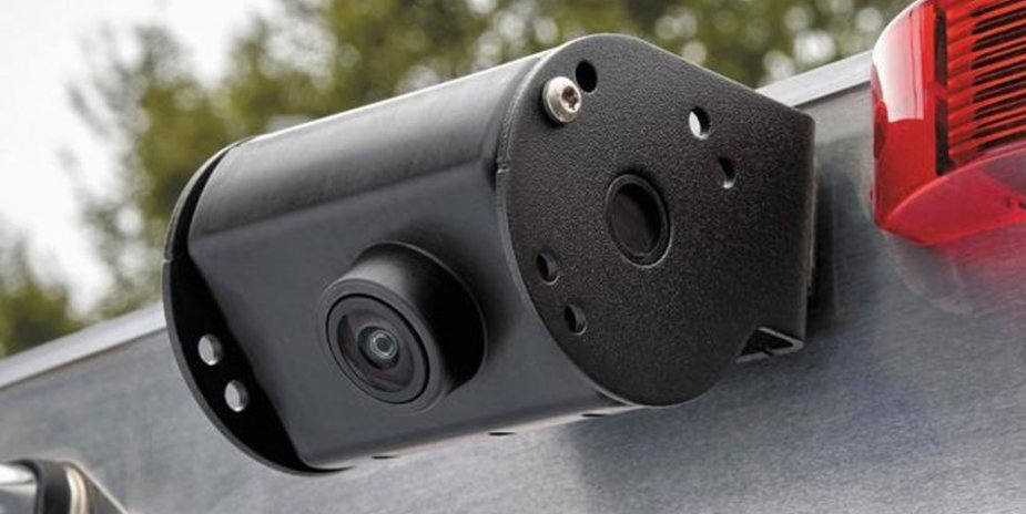 Ford Super Duty Trailer Camera Mounted