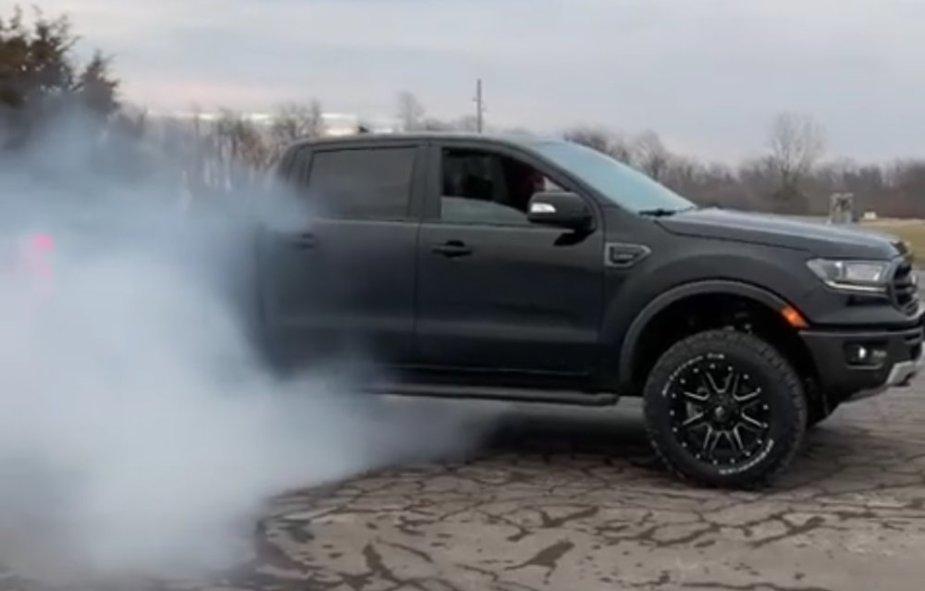 2019 Ford Ranger FX4 Burnout