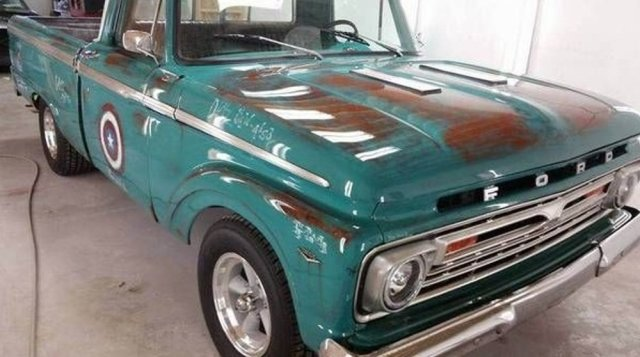 Captain America Ford F-100 Front