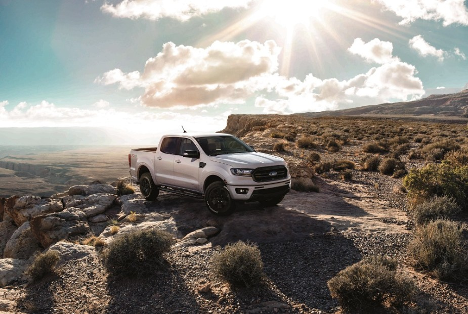 Ford Ranger Black Appearance Package Lariat Super Crew