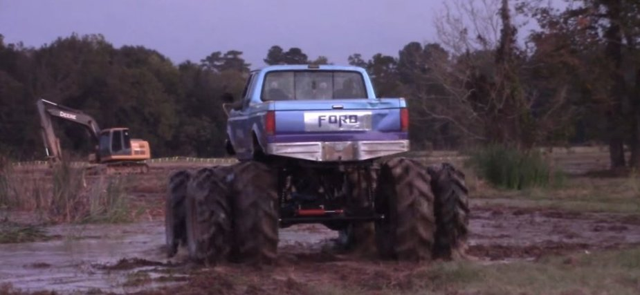 Eight-Wheel Ford Truck