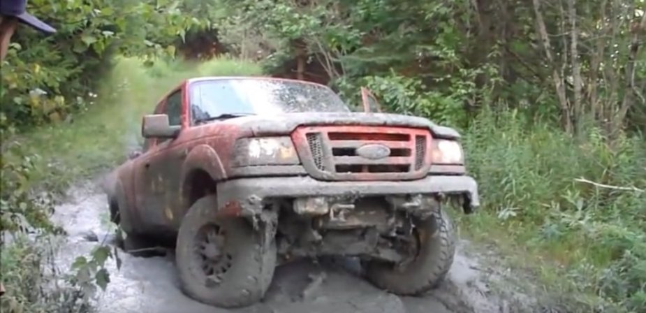 Ford Ranger Stuck Up